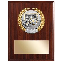 Resin Laurel Soccer Plaque