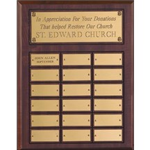Multi Year Plaque, 12