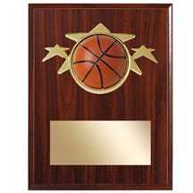 Basketball Star Plaque - 2 Sizes