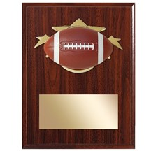 Football Star Plaque - 2 Sizes