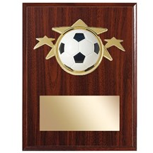 Soccer Star Plaque - 2 Sizes