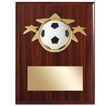 Soccer Star Plaque - 2 Sizes
