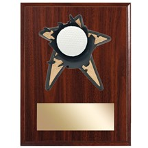 Golf Spring Action Plaque - 3 Sizes