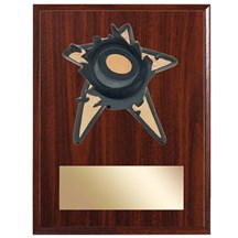 Hockey Spring Action Plaque - 3 Sizes