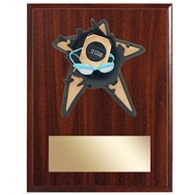 Swimming Spring Action Plaque - 3 Sizes
