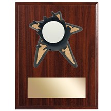 Volleyball Spring Action Plaque - 3 Sizes