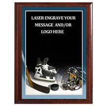 Hockey Photo Sports Plaque - 4 Sizes