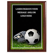 Soccer Photo Sports Plaque - 3 Sizes