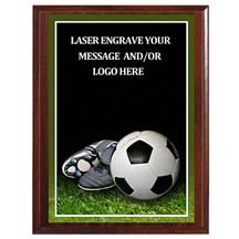 Soccer Photo Sports Plaque - 3 Sizes