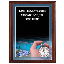 Swimming Photo Sports Plaque - 4 Sizes