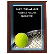 Tennis Photo Sports Plaque - 4 Sizes