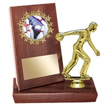 Bowling Stand Up Plaque