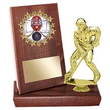Hockey Stand Up Plaque