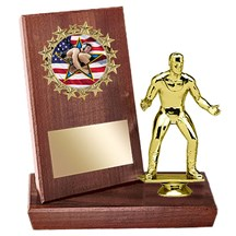 Wrestling Stand Up Plaque