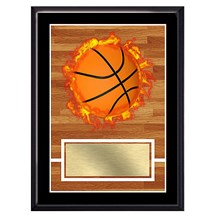 Exclusive Basketball Plaque - 4 Sizes