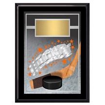 Exclusive Hockey Plaque - 4 Sizes
