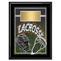 Exclusive Lacrosse Plaque - 4 Sizes