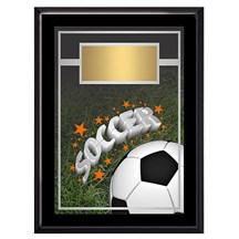 Exclusive Soccer Plaque - 4 Sizes
