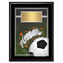Exclusive Futbol Plaque - 4 Sizes