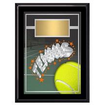 Exclusive Tennis Plaque - 4 Sizes