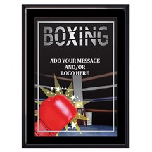 Exclusive Boxing Plaque - 4 Sizes