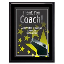 Exclusive Coach Plaque - 4 Sizes