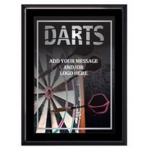 Exclusive Dart Plaque - 4 Sizes