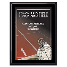 Exclusive Track Plaque - 4 Sizes