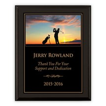 Exclusive Golf Plaque - 3 Sizes