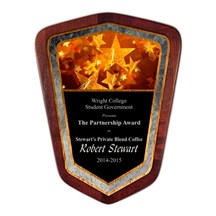 Color Shield Plaque