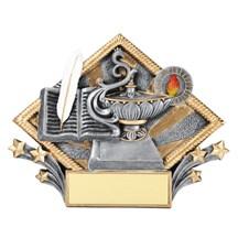 Lamp of Knowledge Diamond Plate