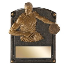 Male Basketball Legends of Fame Resin - 2 Sizes