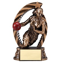 Female Basketball Star Series Trophy - 2 Sizes
