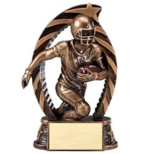 Football Star Series Trophy - 2 Sizes