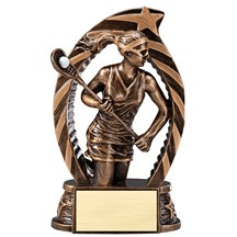 Female Lacrosse Star Series Trophy - 2 Sizes