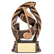 Music Star Series Trophy - 2 Sizes