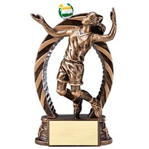 Female Volleyball Star Series Trophy - 2 Sizes