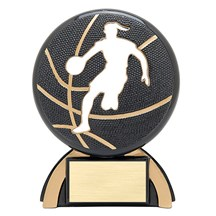 Female Basketball Shadow Sports Resin - 2 Sizes