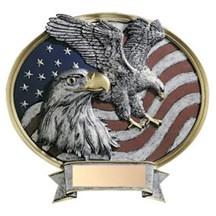 Resin Eagle Oval