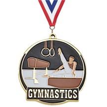 Hi-Tech Male Gymnastics Medal