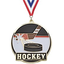 Hi-Tech Series Hockey Medal