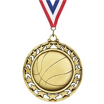 Superstar Series Basketball Medal