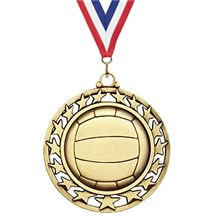 Superstar Series Volleyball Medal