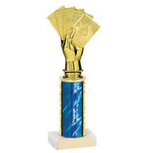 9-3/4 - 12-3/4 Poker Trophy