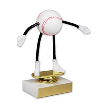 Moveable Baseball Trophy