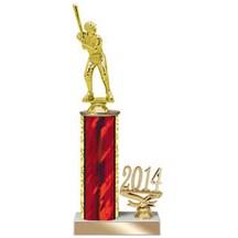 4 Sizes Year Date Baseball Trophy