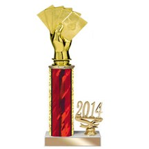 Year to Date Poker Trophy