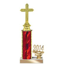 4 Size Year Religion Trophy