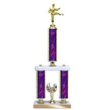 2-Post Tournament Trophy