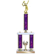 2-Post Tournament Tennis Trophy